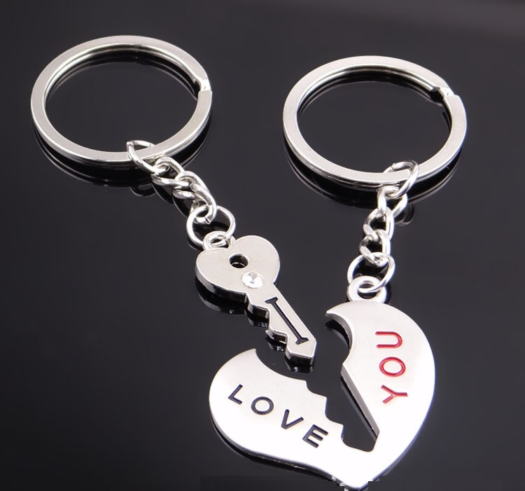 Lovers metal keychain series