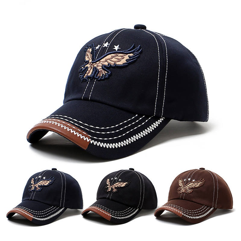 3D Embroidery logo  Twill Cotton 6 Panels Baseball Cap