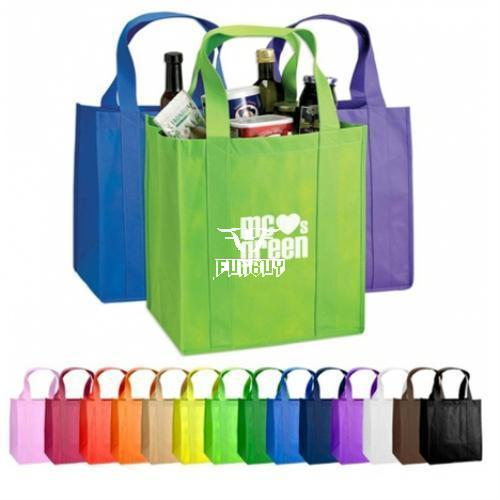 Vertical type Strengthening Non Woven Tote Shopping Bag
