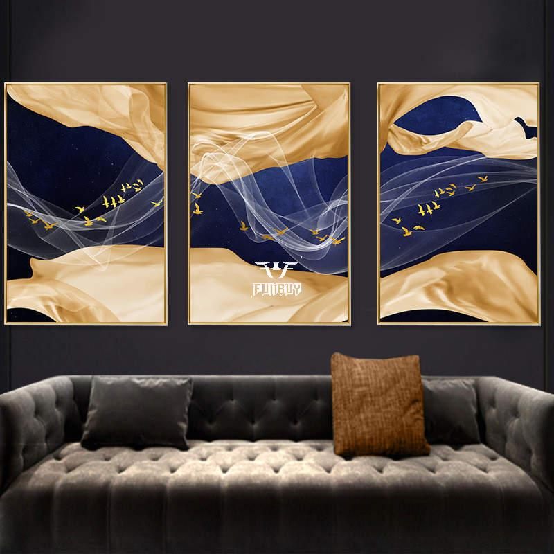 2019 New Product  Full color UV printing MDF living room home decoration picture