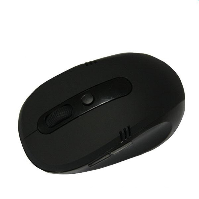 Cheaper black color wireless optical mouse