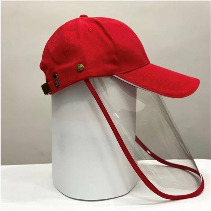 Unisex Antivirus Anti Flu Droplets Coronavirus Virus Baseball Cap with Face Shield